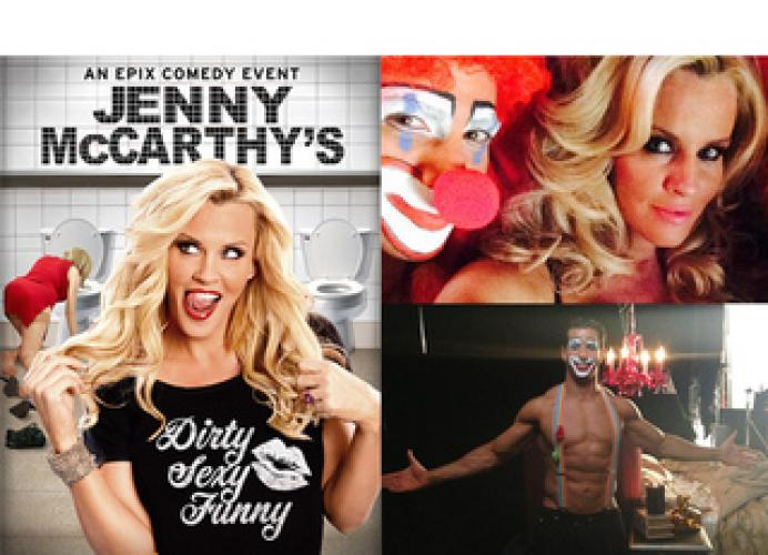 Jenny McCarthy's Dirty Sexy Funny next episode air date poster
