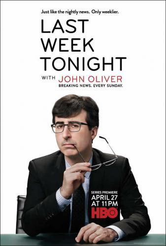 Last Week Tonight with John Oliver next episode air date poster