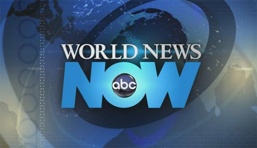 ABC World News Now next episode air date poster