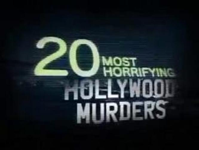 20 Most Horrifying Hollywood Murders next episode air date poster