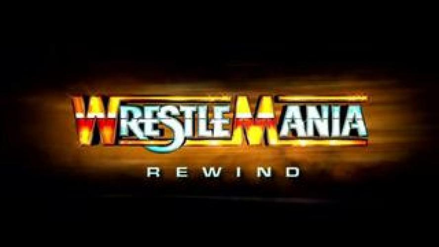 WrestleMania Rewind next episode air date poster