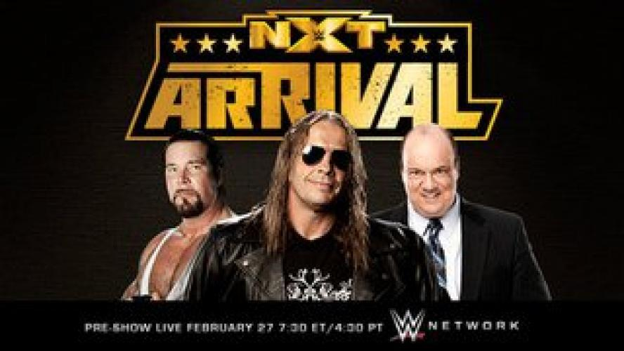 NXT ArRival Pre-Show next episode air date poster