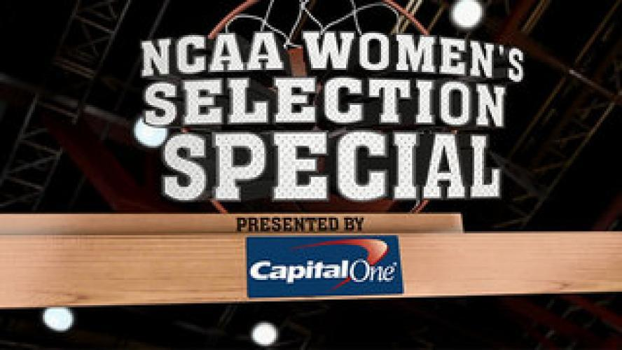 Division I Women's Basketball Selection Show next episode air date poster