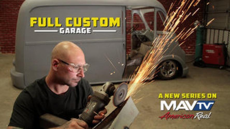 Full Custom Garage next episode air date poster