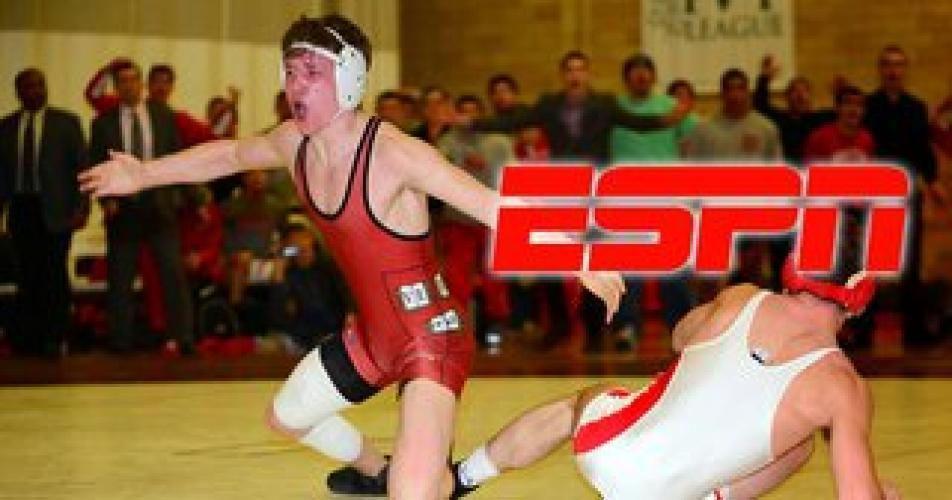 College Wrestling on ESPN next episode air date poster