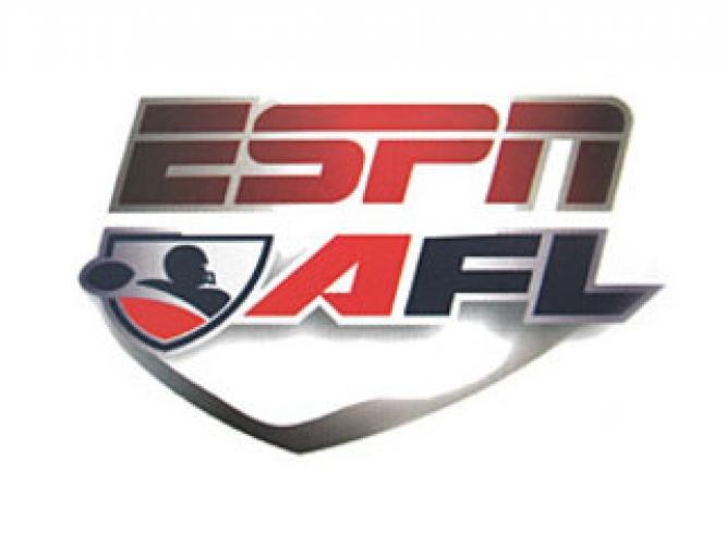 Arena Football League on ESPN next episode air date poster