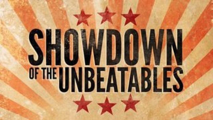 Showdown of the Unbeatables next episode air date poster