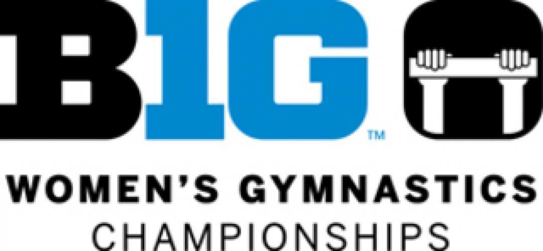 Women's College Gymnastics on Big Ten Network next episode air date poster