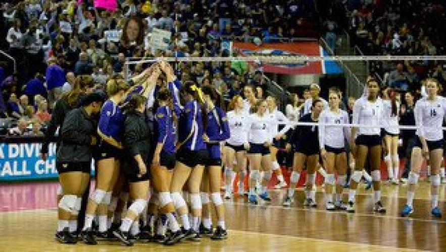 College Volleyball on Pac-12 Network next episode air date poster