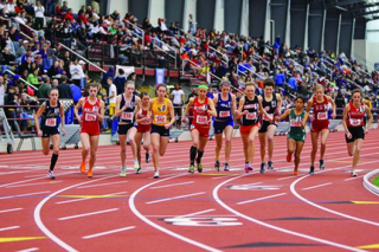 College Track and Field on Big Ten Network next episode air date poster