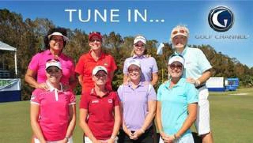 LPGA Tour Golf on GOLF Channel next episode air date poster