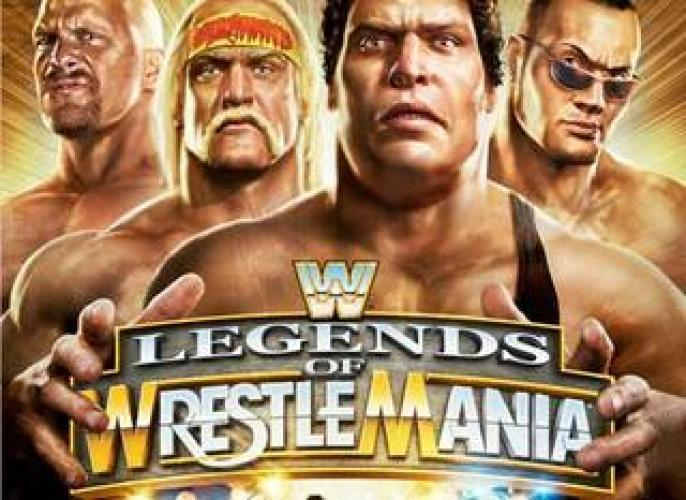 The Legends of WrestleMania next episode air date poster