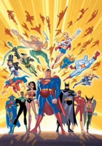 Justice League Unlimited next episode air date poster