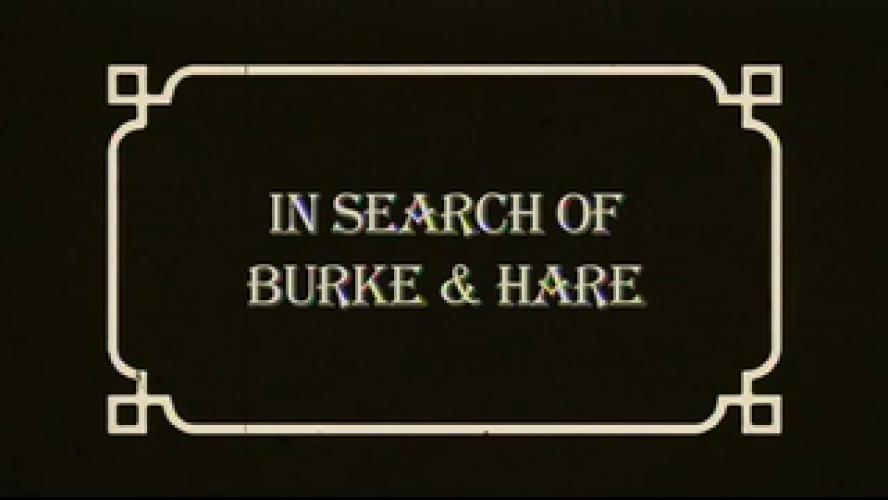 In Search of Burke and Hare next episode air date poster