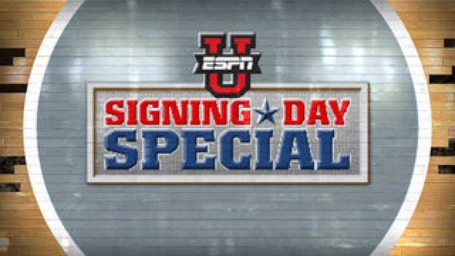 ESPNU Signing Day Special next episode air date poster
