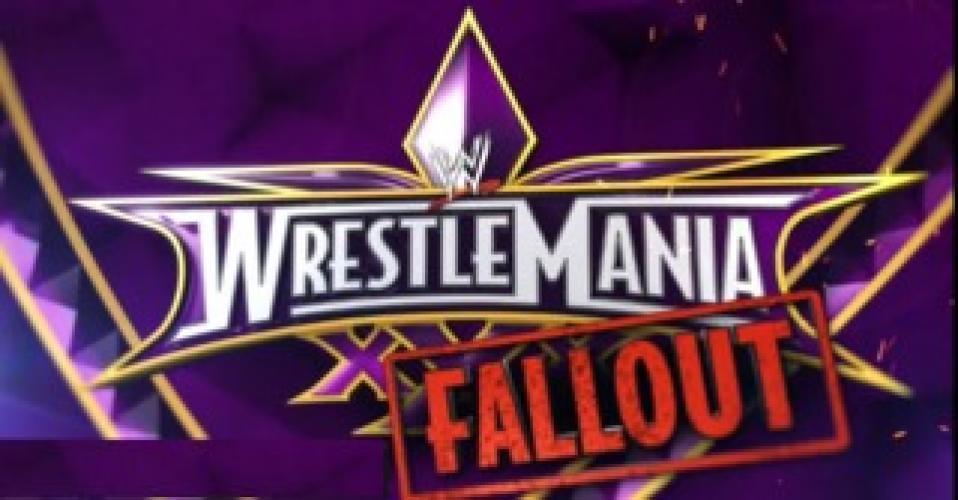 WrestleMania 30 Fallout next episode air date poster