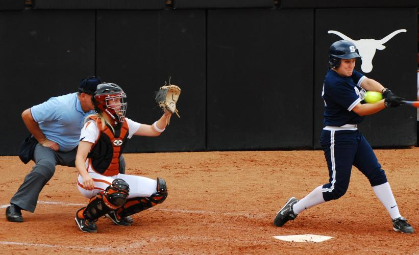 College Softball on Longhorn Network next episode air date poster