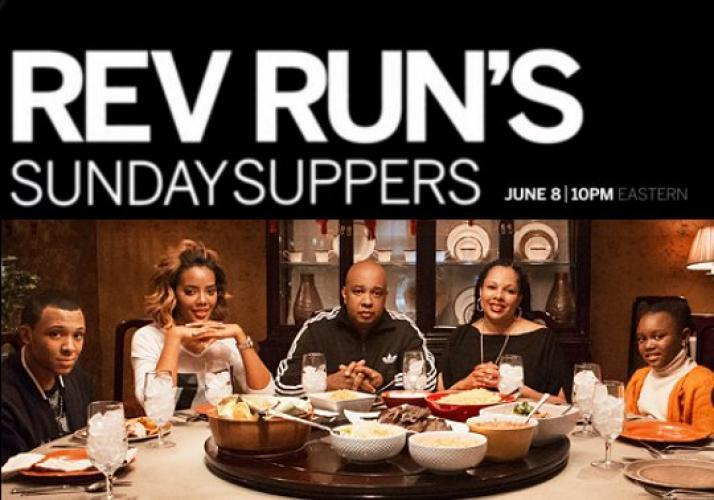 Rev Run's Sunday Suppers next episode air date poster