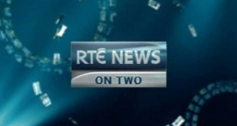 RTÉ News on Two and World Forecast next episode air date poster