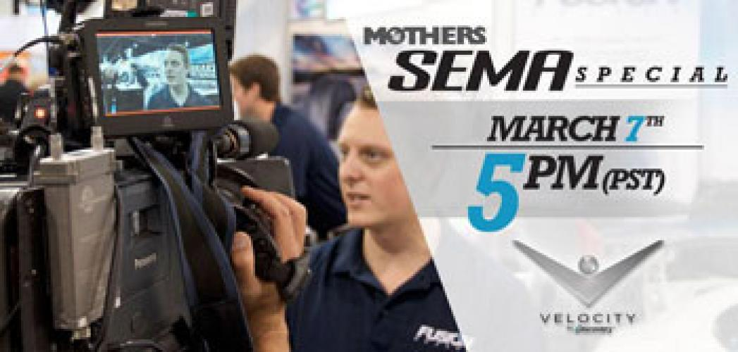 Mothers Presents SEMA Las Vegas next episode air date poster