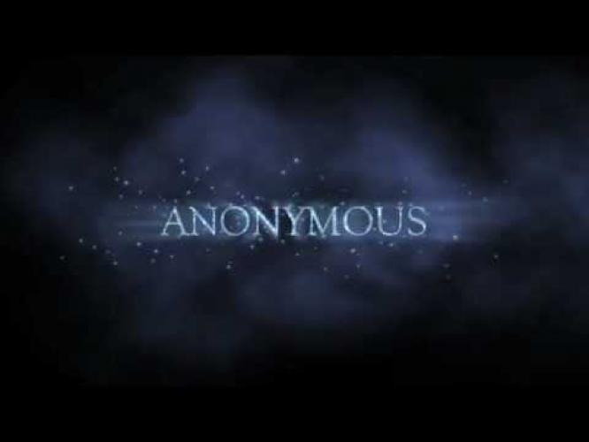 Anonymous (2013) next episode air date poster