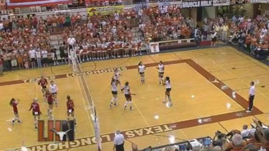 College Volleyball on Longhorn Network next episode air date poster