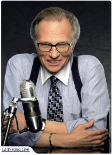 Larry King Live next episode air date poster