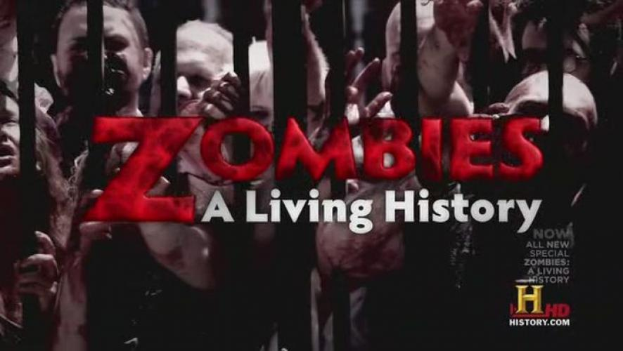 Zombies: A Living History next episode air date poster