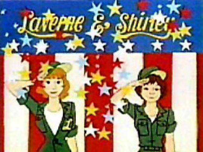 Laverne & Shirley in the Army next episode air date poster