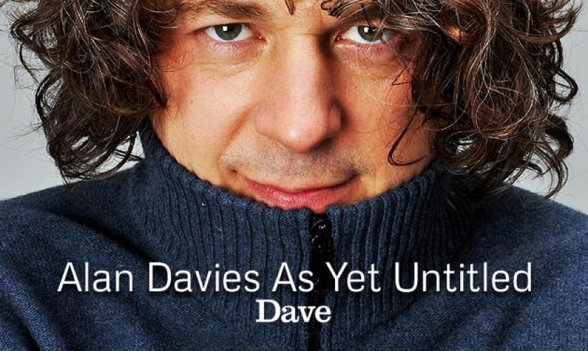 Alan Davies: As Yet Untitled next episode air date poster