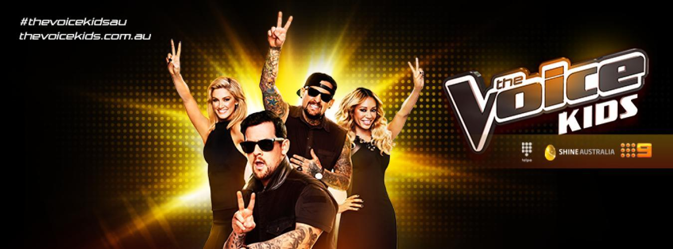 The Voice Kids (Australia) next episode air date poster