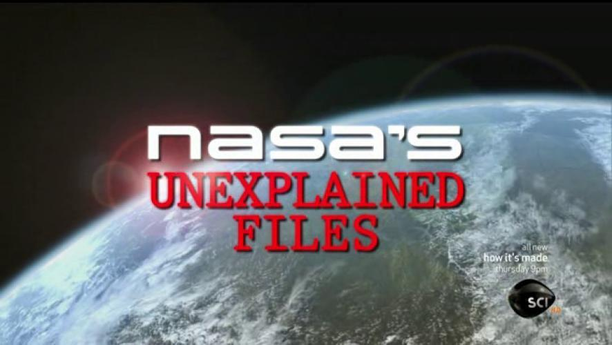 NASA's Unexplained Files Unsealed next episode air date poster