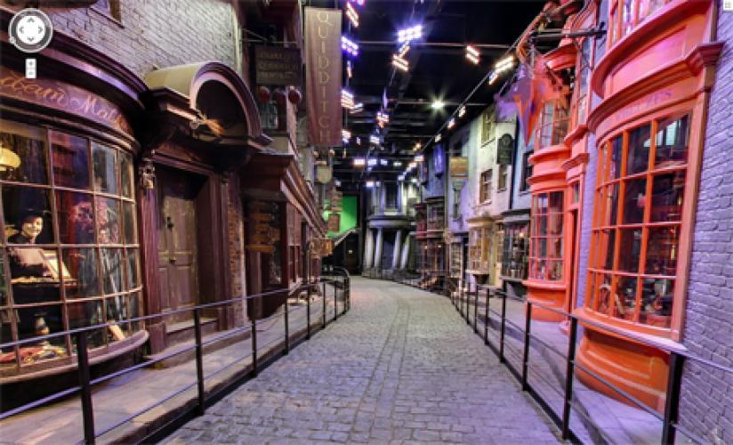 Harry Potter: The Making of Diagon Alley next episode air date poster