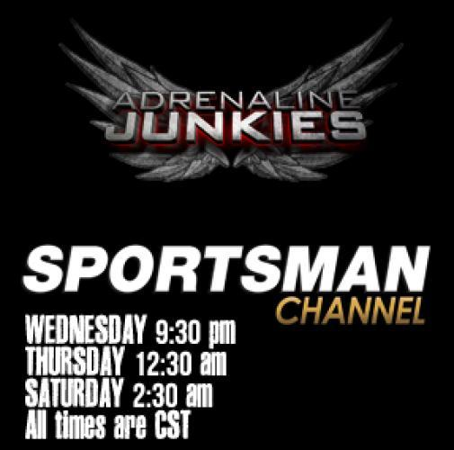 Adrenaline Junkies next episode air date poster
