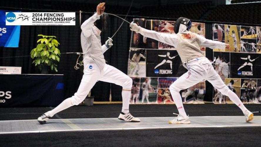 NCAA Fencing next episode air date poster