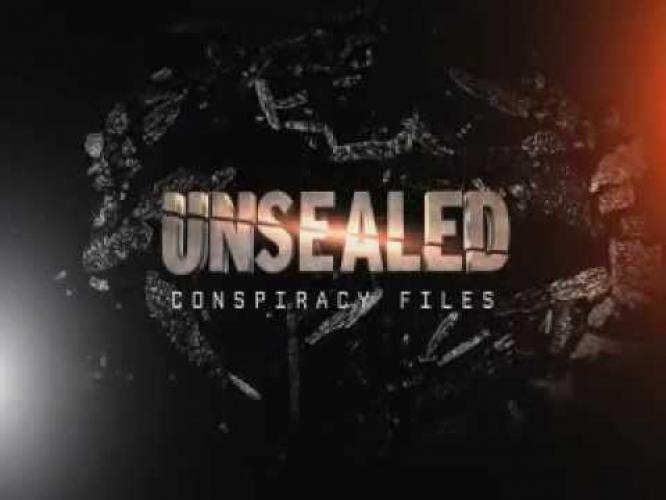 Unsealed: America's Conspiracy Files next episode air date poster