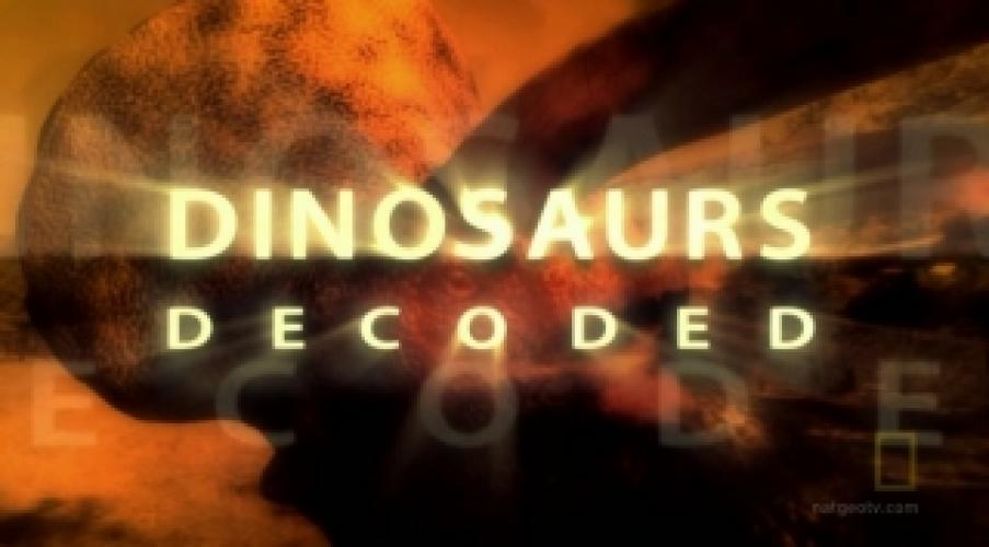 Dinosaurs Decoded next episode air date poster