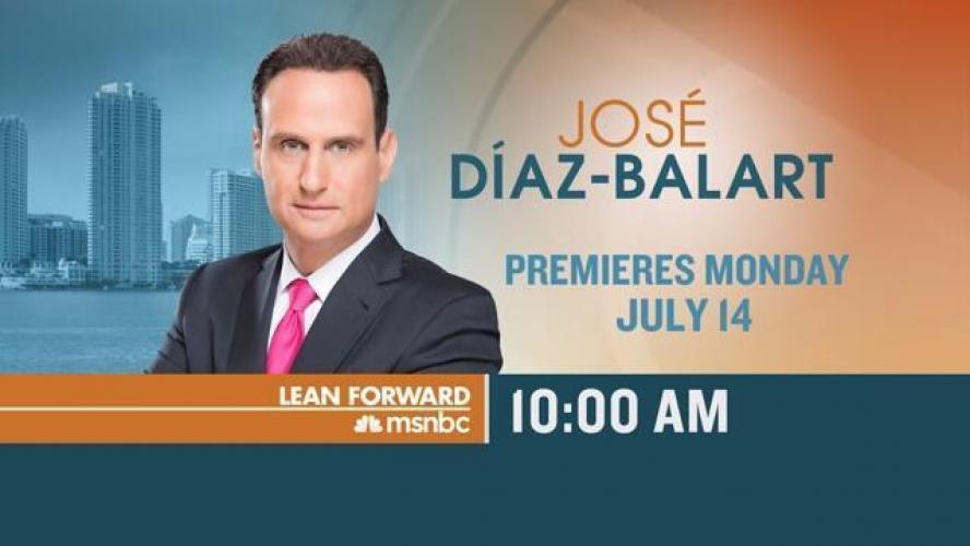 José Díaz-Balart next episode air date poster