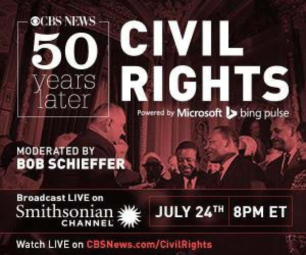 CBS News: 50 Years Later, Civil Rights next episode air date poster