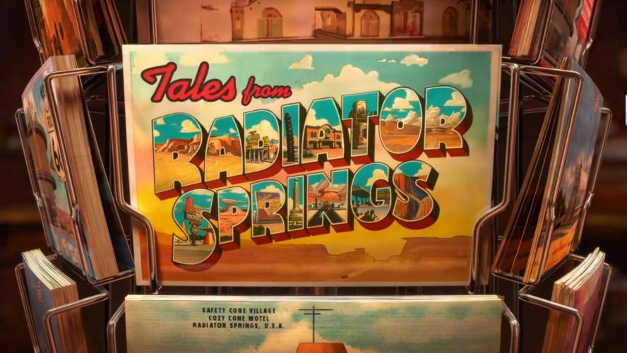 Tales From Radiator Springs next episode air date poster