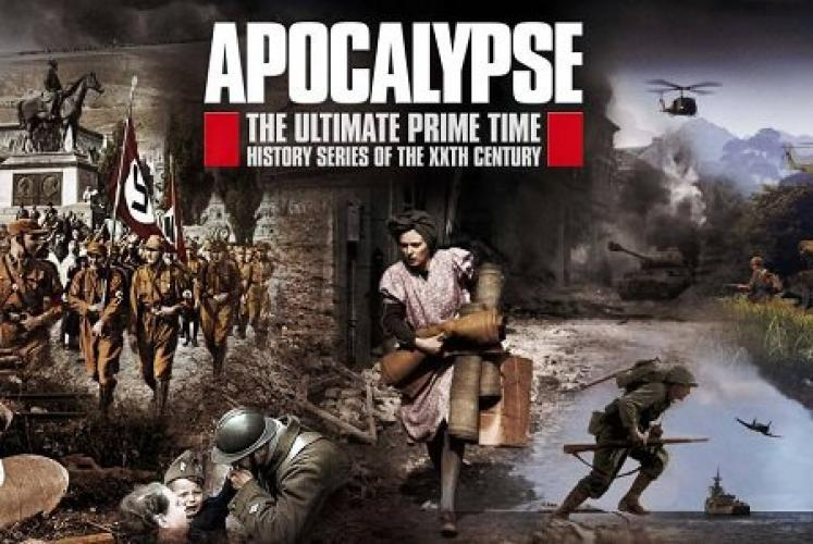Apocalypse: WWI next episode air date poster