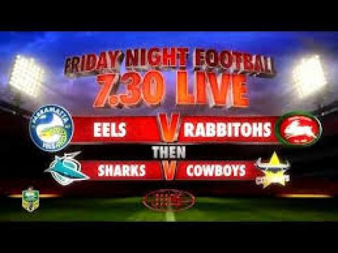 Nine's Live Friday Night Football next episode air date poster