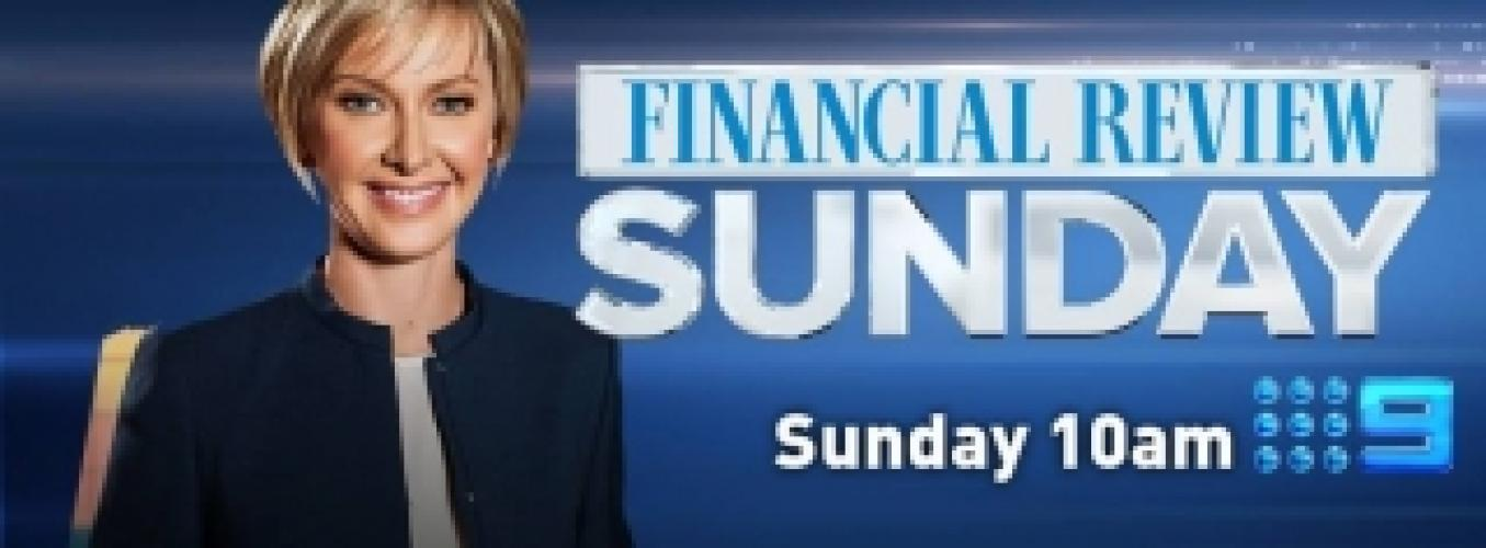 Financial Review Sunday next episode air date poster