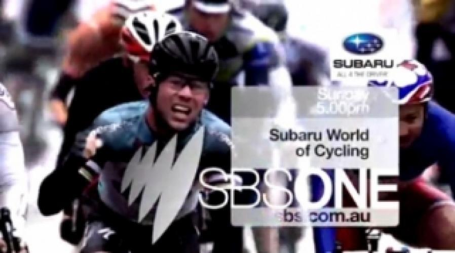 Subaru World Of Cycling next episode air date poster