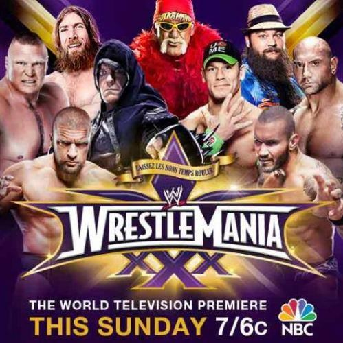 WrestleMania 30: The World Television Premiere next episode air date poster