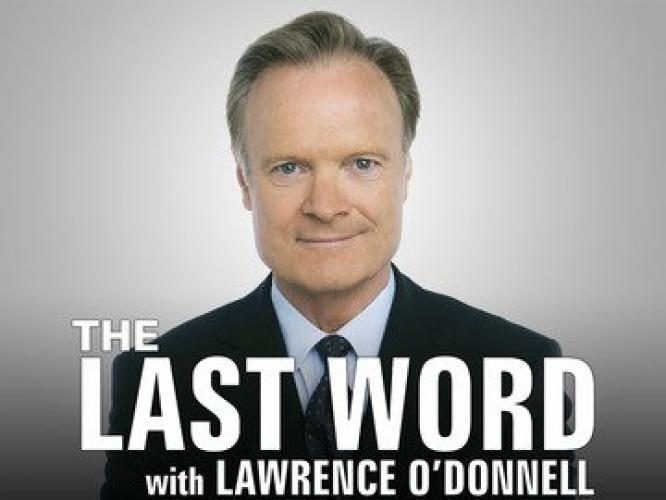 The Last Word with Lawrence O'Donnell next episode air date poster