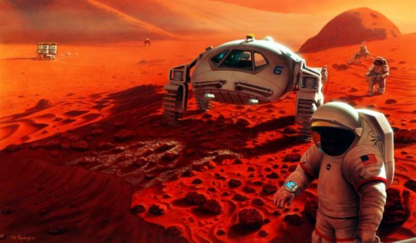 Man on Mars: Mission to the Red Planet next episode air date poster