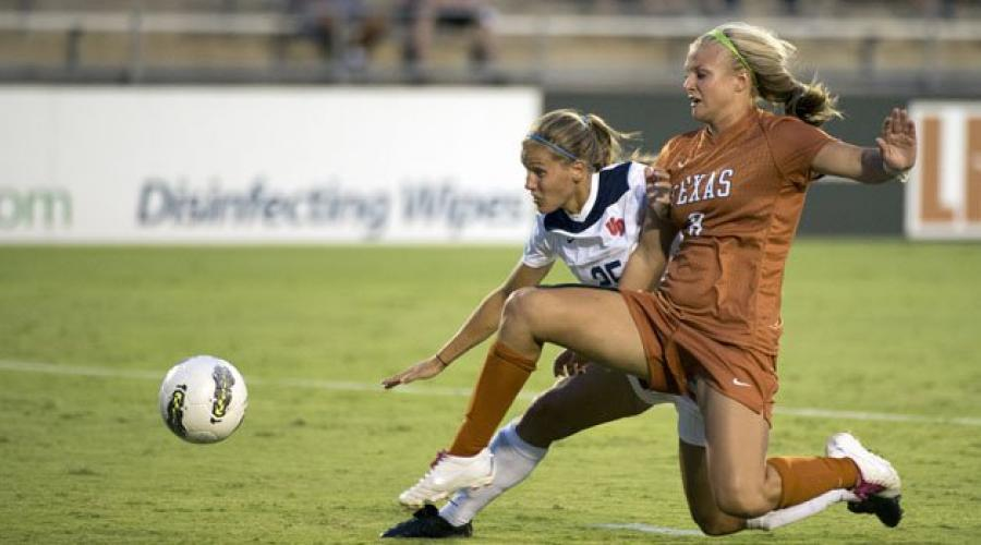 College Soccer on Longhorn Network next episode air date poster