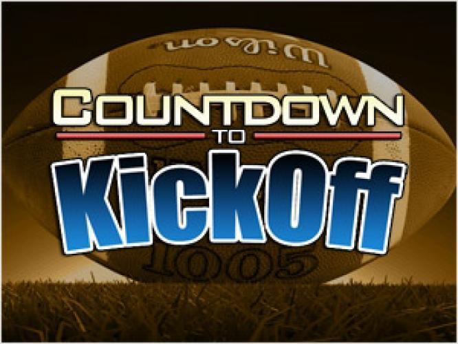 Countdown to Kickoff next episode air date poster