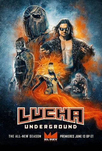 Lucha Underground next episode air date poster